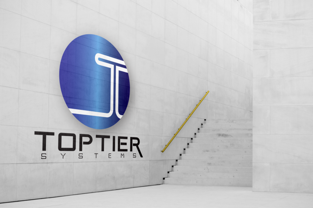 big wall mockup toptierlogo